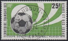 Afars Et Issas (Territoire Des) - N° 387 (YT) Oblitéré. Belle Oblitération De Djibouti. - Afars & Issas (1967-1977)