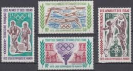 Afars Et Issas (Territoire Des) - Poste Aérienne N° 72 à 75 (YT) Oblitérés. - Afars Y Issas (1967-1977)