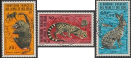 Afars Et Issas (Territoire Des) - Poste Aérienne N° 94 à 96 (YT) Oblitérés. Belles Oblitérations De Djibouti. - Afars & Issas (1967-1977)