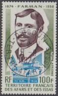Afars Et Issas (Territoire Des) - Poste Aérienne N° 97 (YT) Oblitéré. Belle Oblitération De Djibouti. - Afars & Issas (1967-1977)