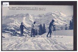 GSTAAD - WINTER SPORT - WINDSPIELENSKIBAHN - B ( PETIT PLI D'ANGLE ) - BE Berne