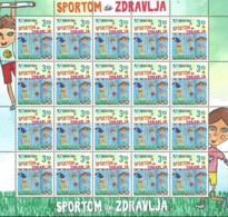 HR 2019-1405 HEALTH THROUGH SPORT, CROATIA HRVATSKA, MS, MNH - Croatia