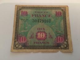 Billet 10 Francs 1944 - 1871-1952 Antiguos Francos Circulantes En El XX Siglo