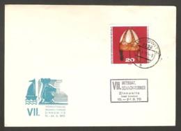 DDR 1970 Zinnowitz - Chess Cancel On Commemorative Envelope - Scacchi