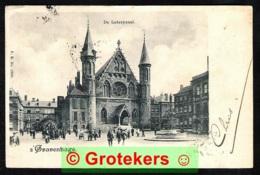 DEN HAAG De Loteryzaal 1902 Zeer Geanimeerd - Den Haag ('s-Gravenhage)