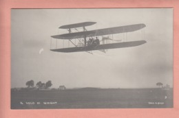 OLD POSTCARD -   AVIATION - PIONEER -  ITALY - ROMA  1909 - IL VOLO DI WRIGHT - ....-1914: Vorläufer