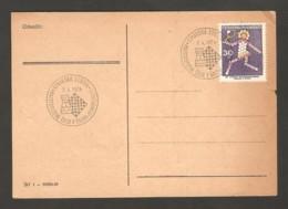 Czechoslovakia 1974 Rimavska Sobota - Chess Cancel On Chess Of Correspondence Postcard - Scacchi