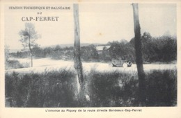 "CPA FRANCE 33 ""Cap Ferret"" - Francia"