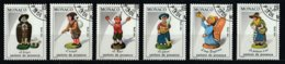 Monaco 1984 : Timbres Yvert Et Tellier N° 1437 - 1438 - 1439 - 1440 - 1441 - 1442 - 1443 - 1444 Et 1445 Oblitérés. - Gebruikt