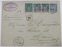 Francia 75-90(2) + Entero Postal 15c - Francia