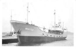 """¤¤   -   Cliché Du Bateau De Commerce """" SEATTLE """"  -  Cargo    - Voir Description  -  ¤¤ - Commercio"""