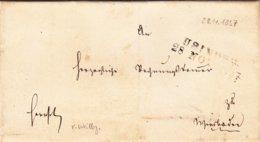 Brief Von Usingen Nach Weilburg Von 1857 - Historical Documents