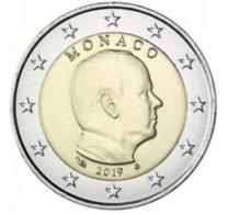 Monaco 2019    2 Euro     Prins  Albert   UNC Uit De Rol  UNC Du Rouleaux  !! - Monaco