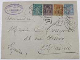 Francia 75-89-96 + Entero Postal 15c - Francia