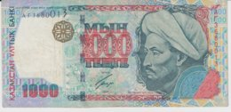 @Y@ Kazachstan  1000  Tenge   AT3680013  Circulatie - Kazakistan