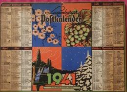 Luxemburger Postkalender  1941 - Postcards