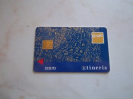 ANCIENNE CARTE GSM SIM FNAC ITINERIS T.B.E !!! - France