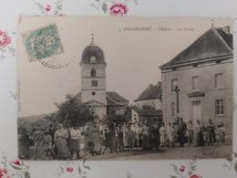 Polaincourt L'église Cachet Facteurs Boîtiers  Haute Saône Franche Comté - France