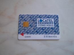 ANCIENNE CARTE GSM SIM LOCATEL ITINERIS T.B.E !!! - France