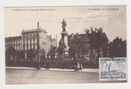 BB645 - POLOGNE - WARSZAWA - Pomnik Mickiewicza - Pologne