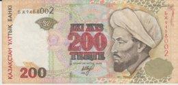 @Y@  Kazachstan  200  Tenge   * * 9468002  Circulatie - Kazakhstán