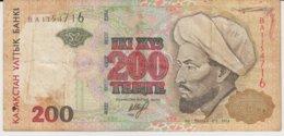 @Y@  Kazachstan  200  Tenge   BA1151716  Circulatie - Kazakhstan