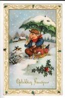 102 - ILLUSTRATEUR - Porc, Parapluie - Varken Met Regenscherm - Dressed Animals