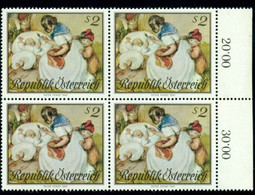 1967 Mother,children,Baby Bottle,Mother's Day,Peter Fendi,Austria,1237,MNH,x 4 - Mother's Day
