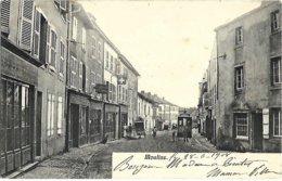 A3 Moselle 57 MOULINS LES METZ Grand'rue Tramway Précurseur 1908 TBE - France