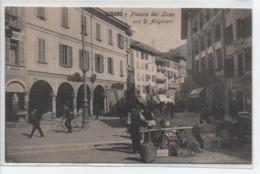 Lugano- Piazza Del Liceo Ora D Alighieri - Altri
