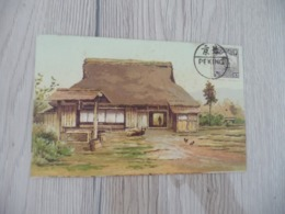 CPA Chine China Chinese House   1 Old Stamp    Paypal Ok Out Of Europe - China