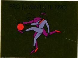 Suisse Carnet C1360 - Pro Juventute 1990 – 8.00 CHF = €7.40 - Sport - Booklets