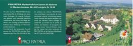 Suisse Carnet C1541 – Pro Patria 1997 – CHF 13.80 = €12.70 - Booklets