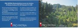 Suisse Carnet C1579 – Pro Patria 1998 – CHF 13.80 = €12.70 - Markenheftchen