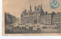 CPA 1313   -- ANCIEN PARIS -- Hotel De Ville Vers 1810-  Animation- - France
