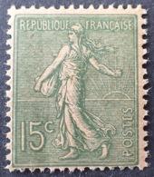 R1189/2 - 1903 - TYPE SEMEUSE LIGNEE - N°130j (IV) NEUF** LUXE ☛ PAPIER GC - 1903-60 Semeuse Lignée
