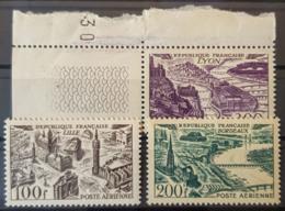 FRANCE 1949 - MNH - YT PA 24, 25, 26 - 100F 200F 300F - 1927-1959 Neufs