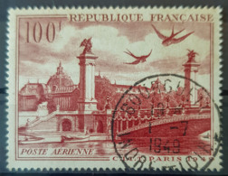 FRANCE 1949 - Canceled - YT PA 28 - 100F - Airmail