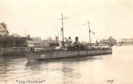 Thematiques Militaria Bateaux Guerre Impétueuse - Warships