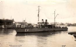 Thematiques Militaria Bateaux Guerre Eveillé Photo CP Dorsand St Servan - Warships