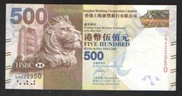 HONG KONG  500 $   2016 UNC - Hong Kong