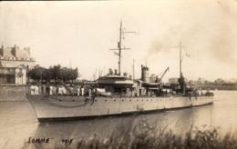 Thematiques Militaria Bateaux Guerre Somme - Warships