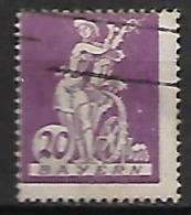 BAVIERE    -    1920 .   Y&T N° 180 Oblitéré. - Bayern