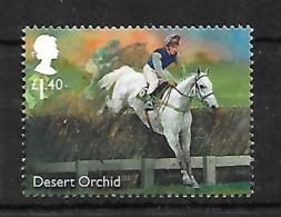 GB 2017 FAMOUS RACEHORSE DESERT ORCHID MNH - 1952-.... (Elizabeth II)