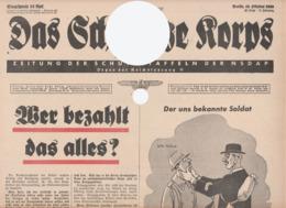 Das Schwarze Korps, SS-Newspaper,WW2,Schutzstaffeln,19.October 1939,42.Folge - Hobbies & Collections
