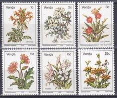 Venda Südafrika RSA 1979 Pflanzen Plants Flora Blumen Flowers Blüten, Aus Mi. 1-17 ** - Venda