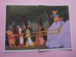 PANINI Winnie L'ourson Et L'éfélant Disney N°182 & 183 Tigrou éléphant Elefante Kangourou Kangaroo Canguro - Panini