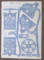 Fretwork L'Arte Del Traforo Torinese C. Amati Ed. Tav. 571 - Carretta Giocattolo - Altri