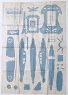 Fretwork - L'Arte Del Traforo Torinese C. Amati Ed. Tav. 416 - Aereo Giocattolo - Altri