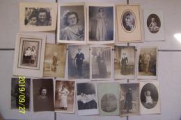 LOT De 18 Photos, Cp Photo Et Portrait - Andere
